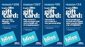 bliss gift card