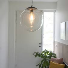 modern pendant lamp 35cm black with
