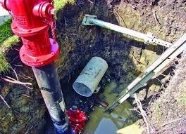 lessening water hammer