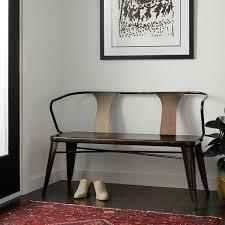 vintage metal furniture. Tabouret Vintage Metal Dining Bench With Back Vintage Metal Furniture