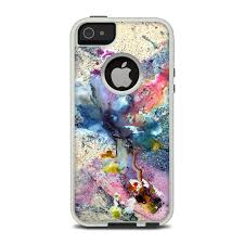 iphone 5s cases otterbox. otterbox commuter iphone 5 case skin - cosmic flower by creative nature | decalgirl iphone 5s cases otterbox
