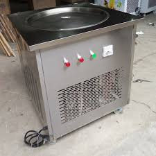 Small Vending Machines For The Home Beauteous 48cm Pan Flat Pan Fried Ice Cream Frozen Yogurt Vending Machine For