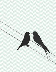 two love bird silhouette. Brilliant Silhouette Two Love Birds On A Wire Silhouette  Photo2 Throughout Love Bird Silhouette