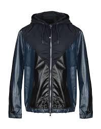 sel black gold leather jacket