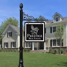 Decorative Sign Posts Product Portfolio Decorative Luxury Real Estate Realtor Sign 49