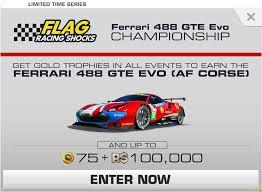 Ferrari 488 challenge evo ready to race with refined aero, performance. Ferrari 488 Gte Evo Af Corse Championship Real Racing 3 Wiki Fandom