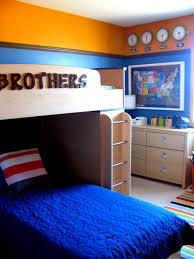 Bedroom Decorating Ideas Blue And Orange Interior Design