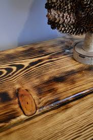 Rustic Furniture Stain Burn It Up Rustic Pine Table J Paris Designs Blog