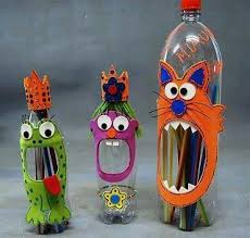 Decoration With Plastic Bottles 60 DIY Decorating Ideas With Recycled Plastic Bottles Plastic 29