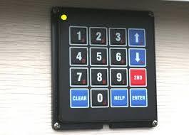 keypad for garage doorArduino Blog  DIY Garage Door KeyPad Project