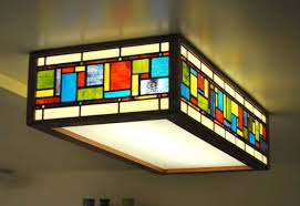 stained glass kitchen lighting modern hanging
