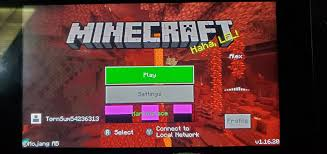 MCPE-95845] Many bugs. They all crash or freeze my switch ...
