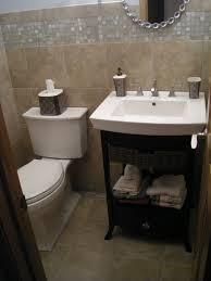 Elegant Half Bathroom Floor Tile Ideas Picture Of Design Bath - Half bathroom