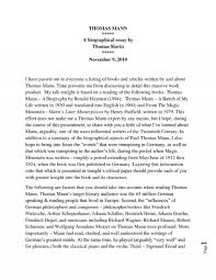 Essay Template Personal Biography Examples Phenomenal Of Essays