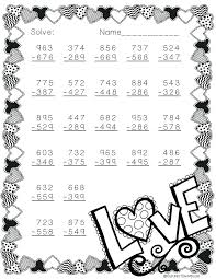 Valentine Math Kindergarten Free Worksheets For Grade First – prosib