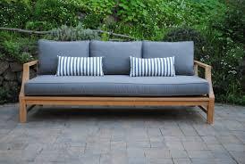 home design magnificent teak outdoor sofa in patio furniture paradise teak outdoor sofa jadisdesignservices