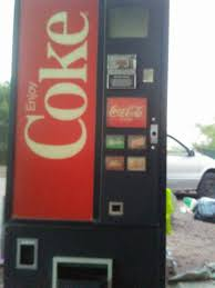 Coca Cola Vending Machine For Sale Simple CocaCola Vending Machine Needs Work For Sale In Apache Junction AZ
