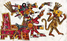 Resultado de imagen para mono autoexistente azul calendario maya