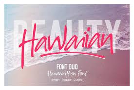 Download 61,444 swash free vectors. Hawaiian Duo Font By I Do Not Sleep Creative Fabrica