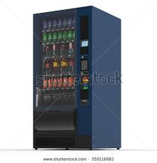 Vending Machine Background Delectable Vending Machine On White Background 48 D Stock Illustration 4850116661