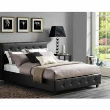 Black leather bed frame Mens Bed Frequently Bought Together Home Depot Piece Bedroom Set Queen Size Furniture Black Leather Bed