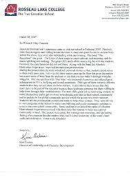 write letter recommendation college student template letter of recommendation for student