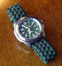 adjustable paracord watchband