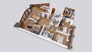 floor plan 3d. 3D Floor Plan Shoebox Chalet. Open Fullscreen 3d