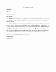 Cover Letters What Is Letter For Resume Example General Cv Sample