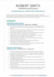 Credit Analyst Resume Classy Credit Risk Analyst Resume Samples QwikResume