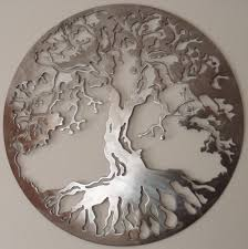 large metal tree wall decor wood metal wall digs decor with most recent large round on metal tree wall art large with displaying gallery of large round metal wall art view 2 of 20 photos