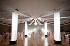wedding reception lighting ideas. Gym Reception Lighting Drapes My Wedding Pinterest Ideas I