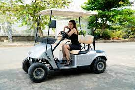 Ô tô điện sân Golf EZGO cũ 2 chỗ ngồi