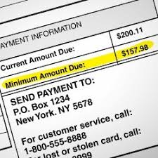 Minimum Credit Card Payment Chase Agrees To 100 Million Settlement Over Minimum Payment