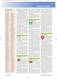 English Bridge - December 2008 - Issue 220