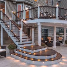 deck lighting ideas. brightyourbackyardwiththesedecklightingideas1 backyard deck lighting ideas