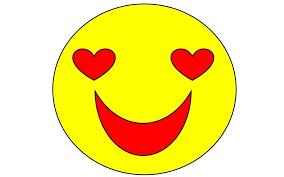smile icon heart emotion