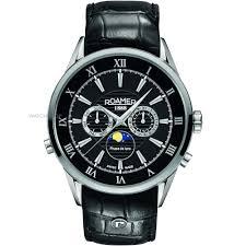 "men s roamer superior moonphase watch 508821415305 watch shop comâ""¢ mens roamer superior moonphase watch 508821415305"