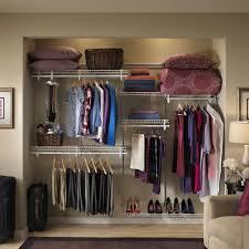 closetmaid shelftrack 5 ft to 8 ft wide closet organizer