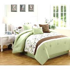 blue brown comforter set king