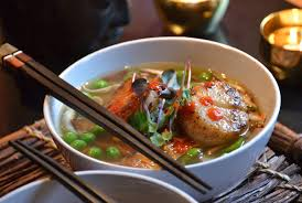 Asian Seafood Soup - Weekend at the Cottage