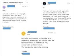 Examples Of Thank You Emails