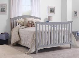 Bye Baby Cribs Grey Convertible Crib and Furniture – Laluz NYC