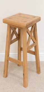 bar stool 196 country oak cross bar stool