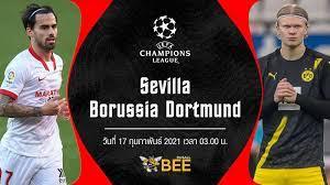 ถ่ายทอดสดฟุตบอล ยูฟ่าแชมเปียนส์ลีก 2020-21 เซบีย่า