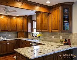 knotty kitchen cabinet knotty alder kitchen with glaze finish the