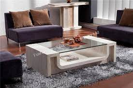 luxury italian marble coffee table for