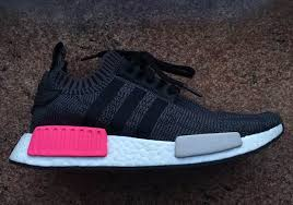 adidas shoes nmd womens pink. adidas nmd r1 primeknit releasing in black/pink shoes nmd womens pink