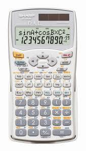 sharp calculator. sharp el520 scientific calculator