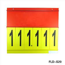 Number Flip Chart Supermarket Promotion With Side Loading And Top Loading Flip